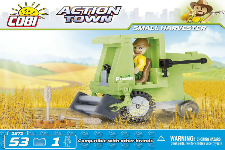 SMALL  HARVESTER