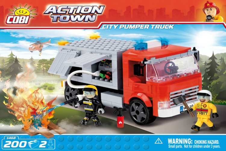 City Pumper Truck